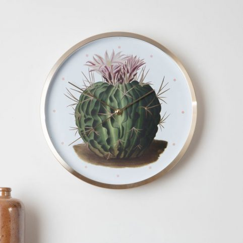 Cactus Wall Clock From Magpie