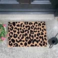 leopard print doormat - buy online UK