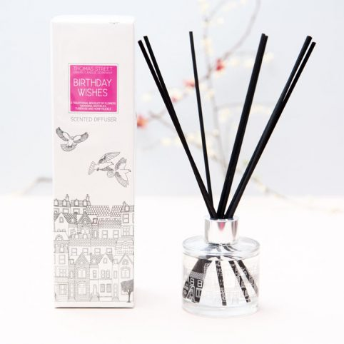 Birthday Wishes Scented Diffuser Thomas Street - Free UK Delivery