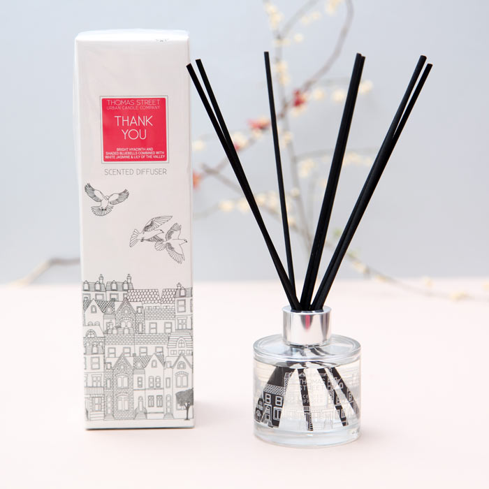Thank You Scented Diffuser by Thomas Street