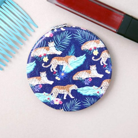 Tiger Compact Mirror - Buy Online UK