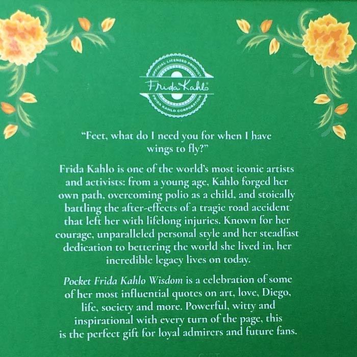 Firda Kahlo Pocket Size Book
