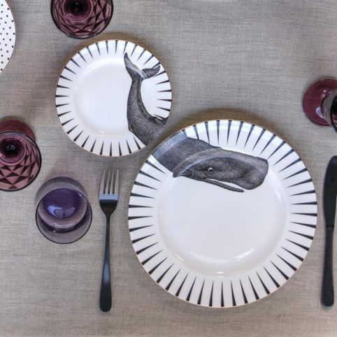 Yvonne Ellen Set - Whale Plates Buy Online UK