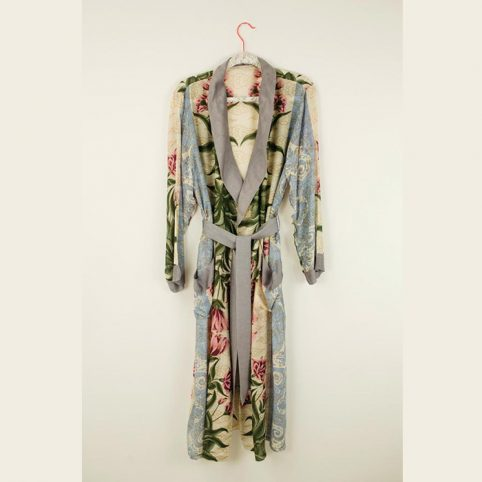 One Hundred Stars Botanical Dressing Gown - Free UK Delivery
