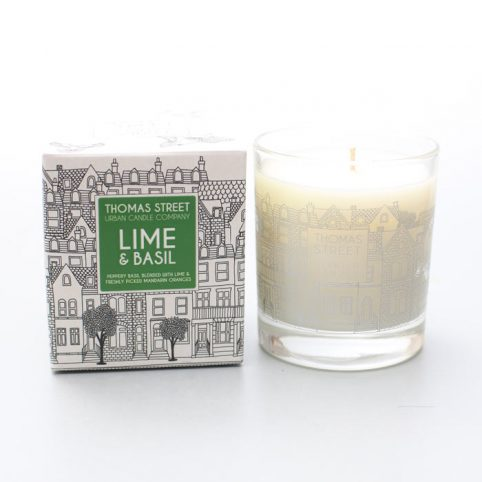 Lime and Basil Thomas Street Candles - £20 Free UK Delivery
