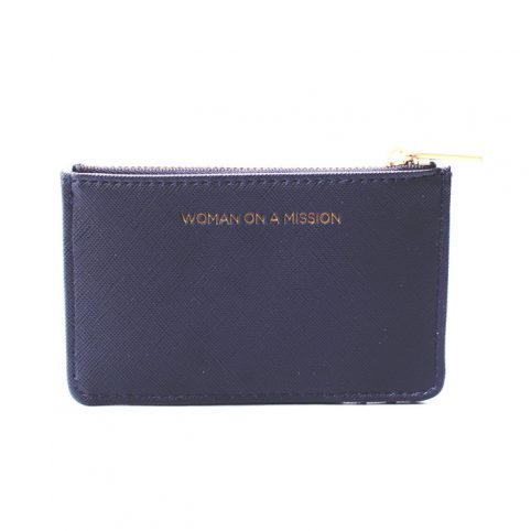 Navy Card Holder And Purse - Estella Bartlett