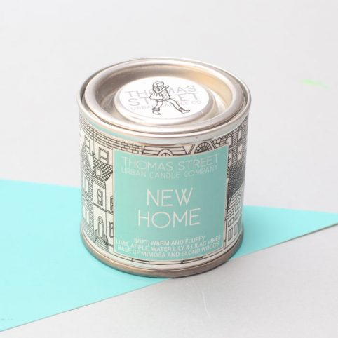 New Home Tin Candle - Buy Online UK