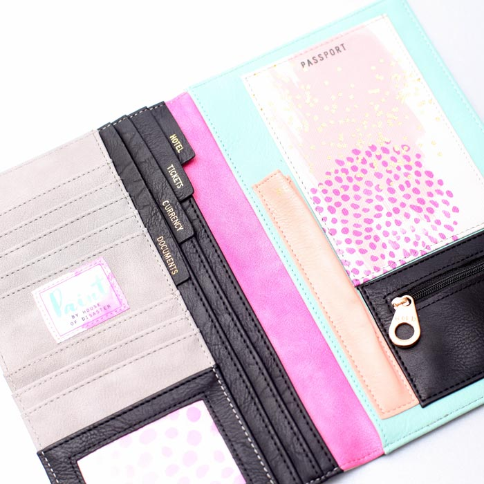 House of Disaster Pain Travel Wallet - £35 Free UK Delivery