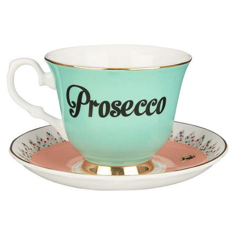Yvonne Ellen Prosecco Cup And Saucer
