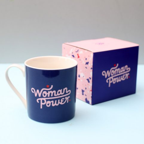 Woman Power Mug by Studio Yes - £9.50 Buy Online UK