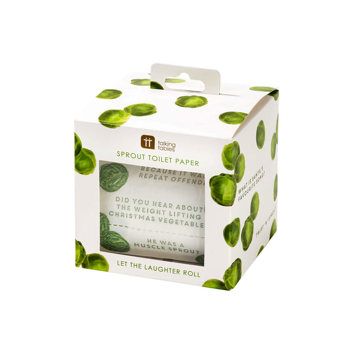 Talking Tables Sprout Toilet Roll - Buy Online UK