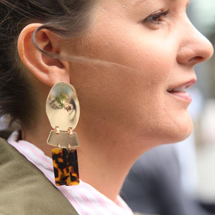 Tortoise Statement Earrings - Buy Online UK