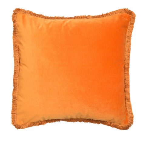 Orange Velvet Cushion - Buy Online UK