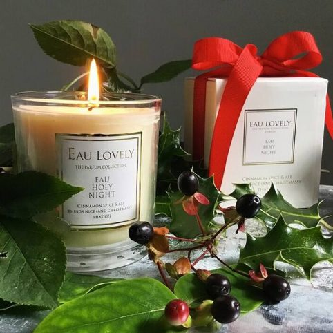 Christmas Scented Candle - Eau Lovely UK