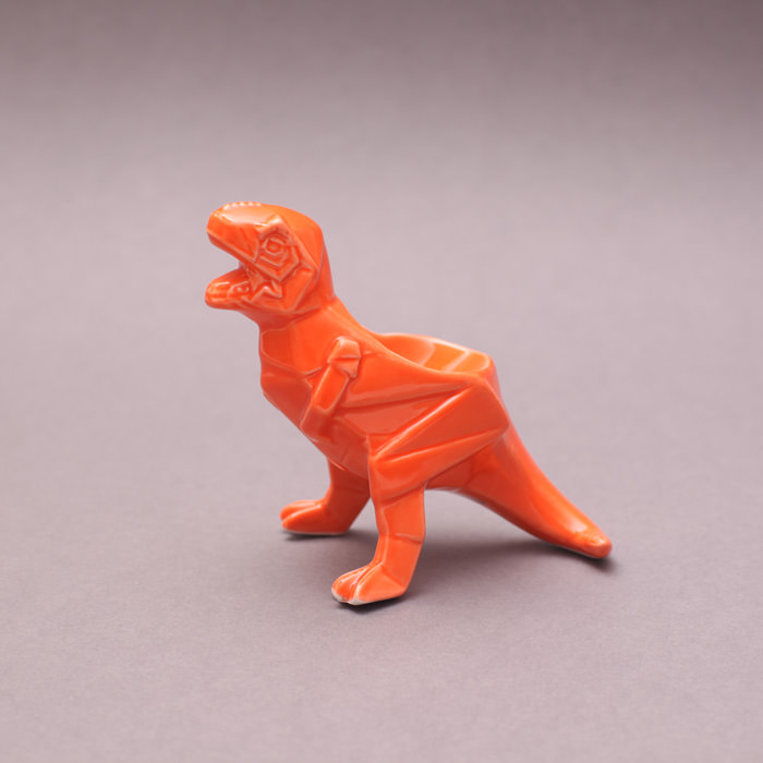 Porcelain T Rex Egg Cup from House of Disaster