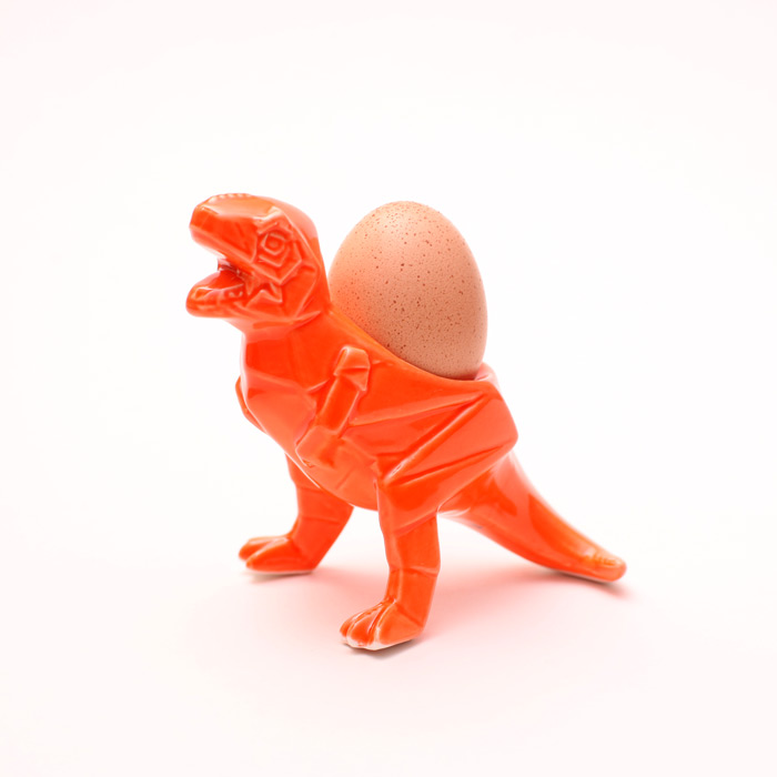 Dinosaur T-Rex Egg Cup from House of Disaster