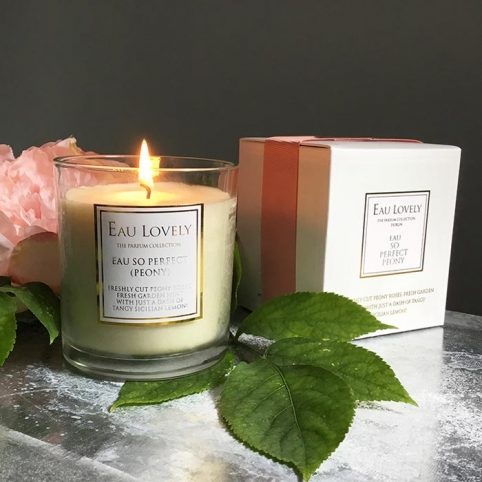 Peony Rose Scented Candle - Buy Online UK