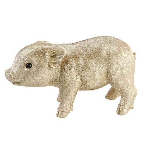 Gold Piggy Coin Bank - Buy Online UK