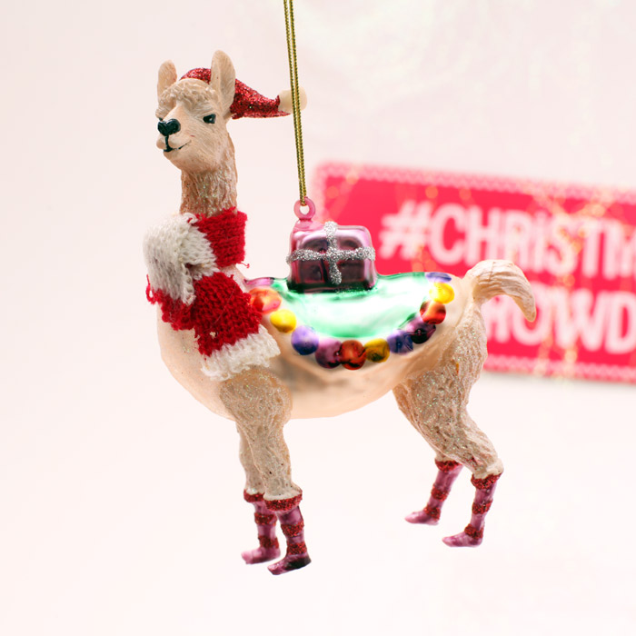 Llama Christmas Decorations.Christmas Llama Decoration Buy Online