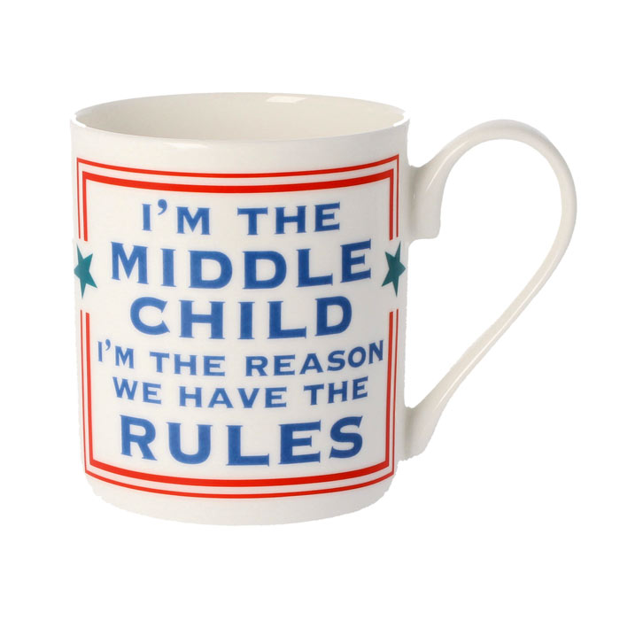 I'm The Middle Child Mug - Buy online UK