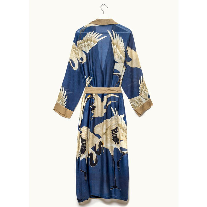 One Hundred Stars Stork Navy Gown - Free UK Delivery
