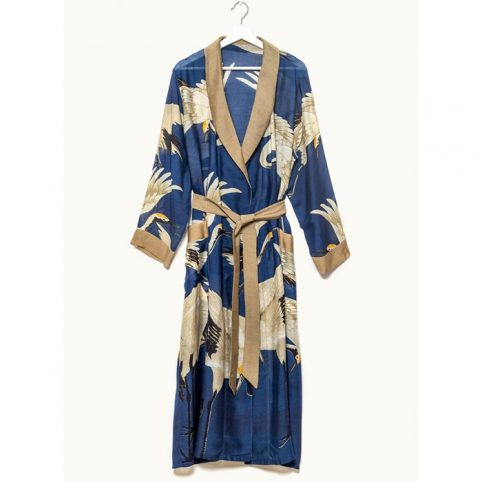 One Hundred Stars Stork Navy Gown - Buy Online UK