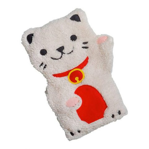 Heated Huggable Lucky Cat - Buy Online UK