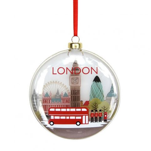 London Scene Christmas Bauble - Buy Online UK