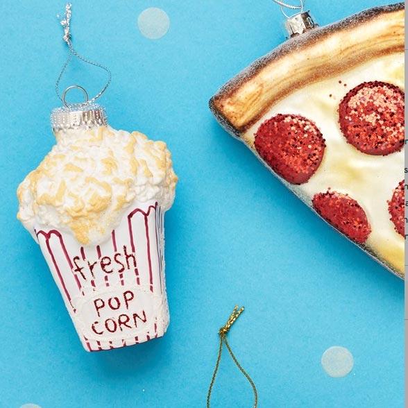 Pop Corn Christmas Ornament - Buy Online UK