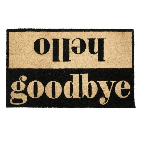 Hello Goodbye Door mat Bombay Duck- Buy Online UK