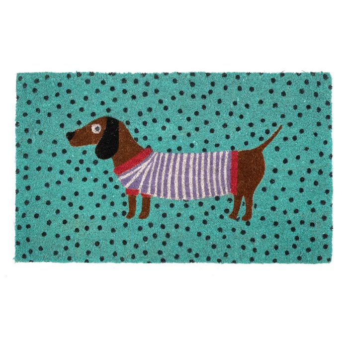 Sausage Dog Door mat - Buy Online UK