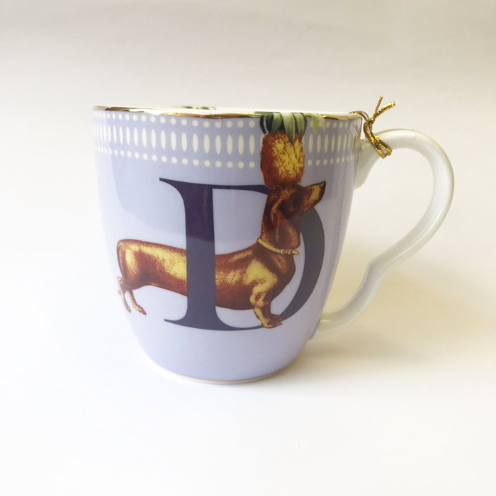 Yvonne Ellen Alphabet Mugs - Buy Online UK
