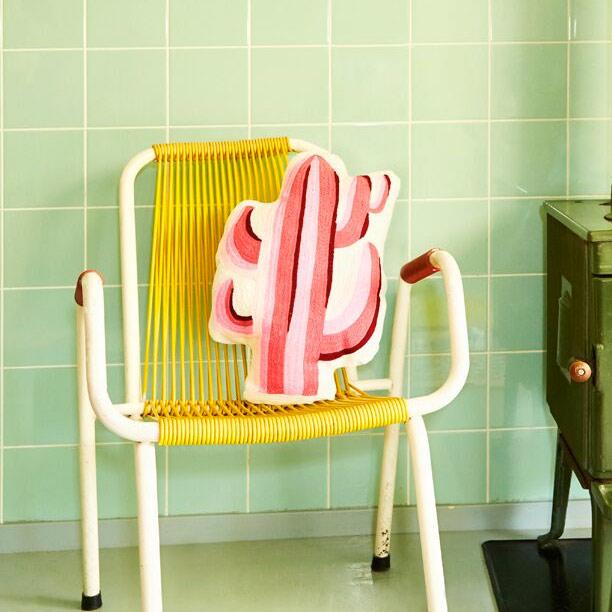 Pink Cactus Cushion - Buy Online UK