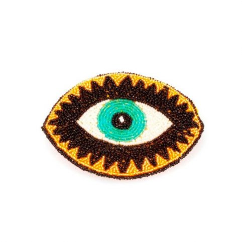 Beaded Eye Purse - Kitsch Kitchen UK