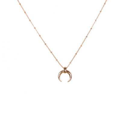 Victoria gold horn necklace - Big Metal London