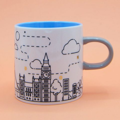 London Skyline Mug - Buy Online UK