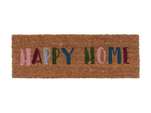 Welcome Doormat by Present Time - Multi-coloured