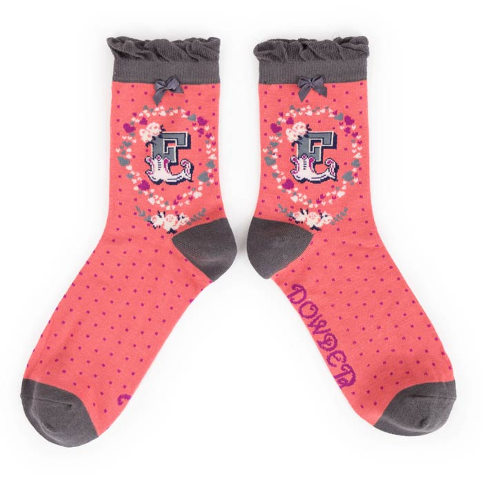 Powder Alphabet Socks - Buy Online UK