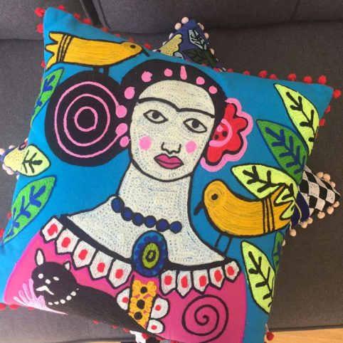 Ian Snow Cushions Frida Kahlo - Buy Online UK