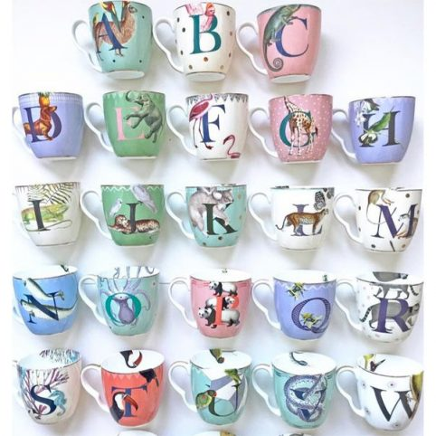 Yvonne Ellen Letter Mugs - Buy Online UK