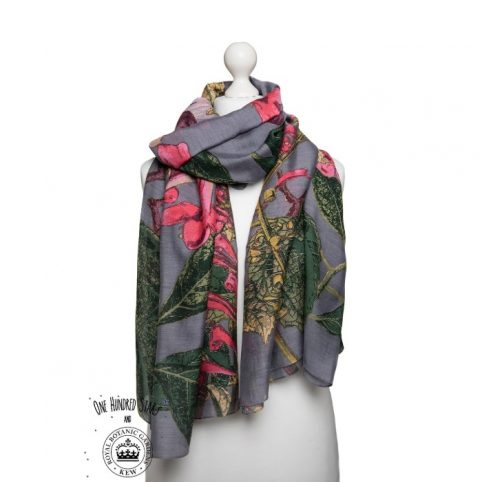 One Hundred Stars Kew Magnolia Grey Scarf