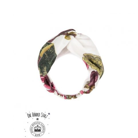 One Hundred Stars Kew Magnolia White Headband