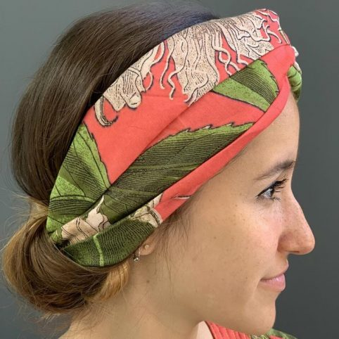 Passion Floral Headband - One Hundred Stars