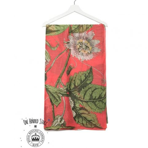 Kew Flower Passion Scarf
