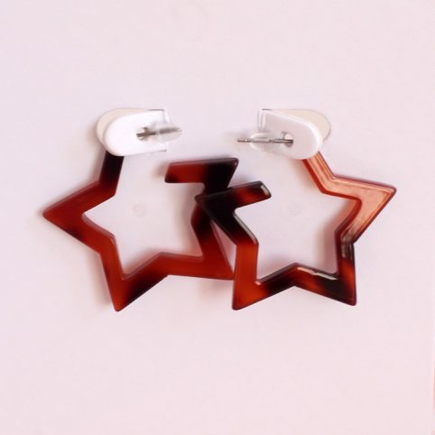 Star Tortoise Shell Earrings Buy Online UK