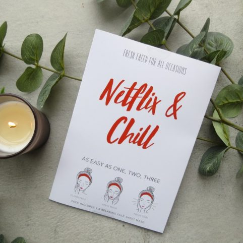 Netflix & Chill - Face Mask Sheet