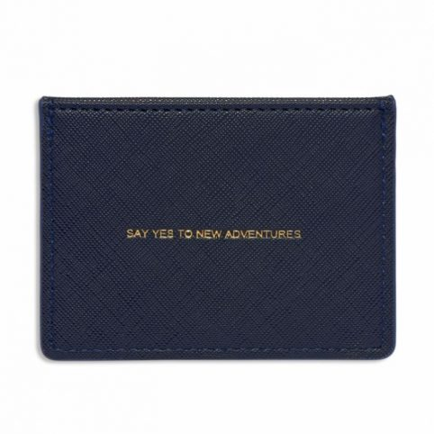 Estella Bartlett Navy Blue Card Holder