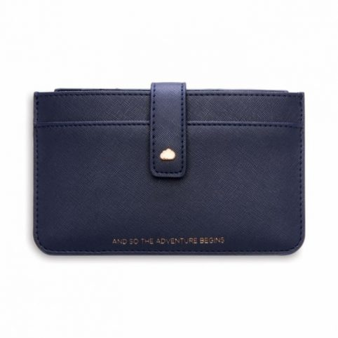 Estella Bartlett Navy Blue Travel Wallet