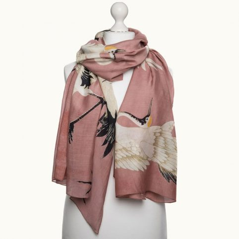 Stork Pink Scarf One Hundred Stars - Buy Online UK