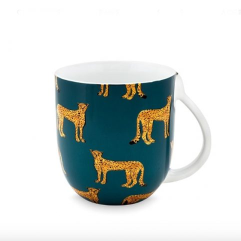 Cheetah Large Mug by Fabienne Chapot - Buy Online UK